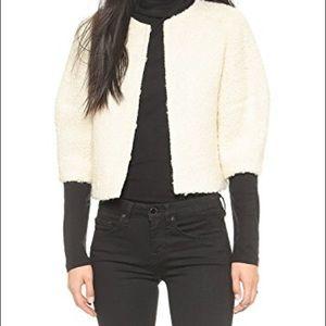 NWT Alice &Olivia Dani cropped jacket